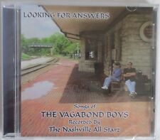 LOOKING FOR ANSWERS - SONGS OF THE VAGABOND BOYS - NASHVILLE ALL STARS CD - NEW