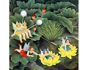 """""""Pixies & Faries"""" Beryl Cook Limited Edition Print"""