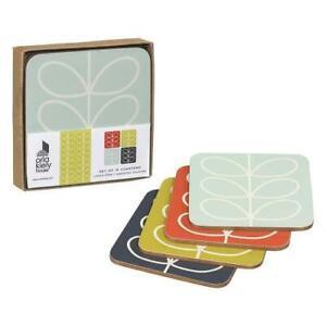 Orla Kiely Linear Stem Leaf Coasters