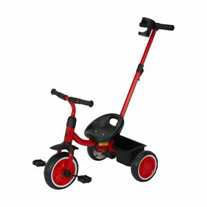 New Upgraded Kids Walker Baby Toddler Bike Bicycle Ride On Tricycle Trike LF