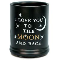 Love You to the Moon Ceramic Stoneware Electric Large Jar Candle Warmer