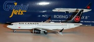Gemini Jets 1:400  Air Canada  Airlines 737 MAX 8   #C-FTJV  - GJACA1709
