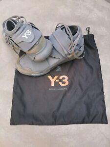 Men's Y-3 Qasa High - Grey (Worn) - UK10