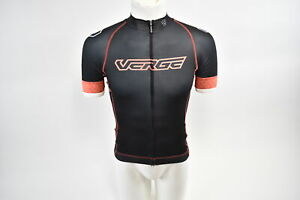 Verge Women's Core Fitted Short Sleeve Cycling Jersey Blk/Or Women's XS