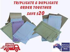 200 LARGE Restaurant Docket Books (100 Duplicate & 100 Triplicate)