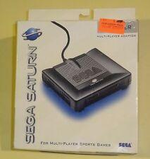 NEW Official SEGA SATURN 6 Player Multitap Adapter MK-80102