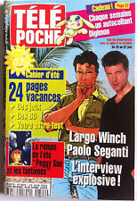 b)Télé poche 11/06/2001; Interview Largo Winch, Paolo Seganti/ Mezrahi/ Avon Car