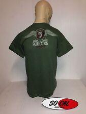 So-Cal t-shirt NEW design sz L Jimmy Shine olive green hot rod 32 ford