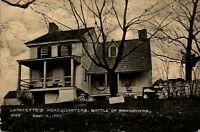 Lafayette's Headquarters Battle of Brandywine Delaware 1910 Real Photo Postcard