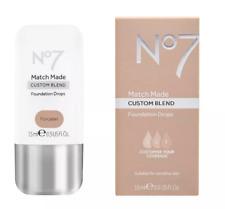 No7 Match Made Custom Blend Foundation Drops, 0.5 fl oz, Porcelain