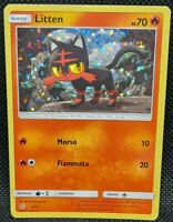 POKÉMON~PROMO~LITTEN~3/12~MCDONALD~2016~NEAR MINT~ITALIANO