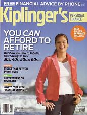 KIPLINGER'S Personal Finance (magazine) February 2009 - You Can Afford to Retire