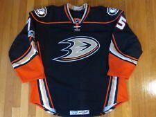 2016-17 Jaycob Megna Anaheim Ducks NHL Debut Game Used Worn Hockey Jersey! PMed