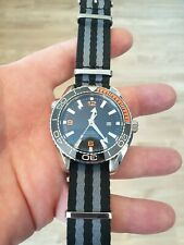 Mens Watch Sea Homage bliger Ocean Submariner Automatic luxury 007 black orange