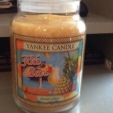 Yankee candle tiki bar limited edition USA large