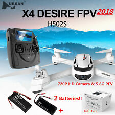 Hubsan H502S X4 Drone 5.8G FPV RC Quadcopter 720P HD Headless Altitude GPS RTH