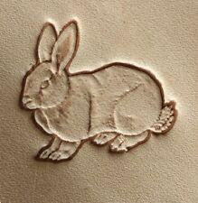 Craftool Tandy 8407 Rabbit 2D/3D Leather Leathercraft Stamp Tool