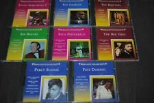 LOT 8 X CD BRILLIANT COLLECTION 60'S (RAY CHARLES/FATS DOMINO/PERCY SLEDGE)