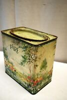 "Vintage Pare Confectionery Works The Hague Holland Tin Advertising Box Rare ""4"