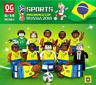 Spielzeug Toy DIY Weltmeisterschaft Fußball Brasilien Russland Fußballstar 12PCS