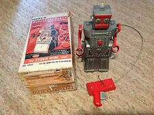 Rare Robert the Robot Remote Control W/Box Works By Ideal Toys Made USA 1950's