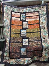 Box Trot Batik Wildlife Quilt