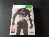 Resident Evil 6 Edición Limitada Metálica XBOX 360 PAL ESPAÑOL