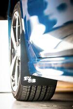 ROKBLOKZ Rally Mud Flaps for the 2017+ Subaru IMPREZA with WHITE LOGO