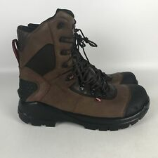 Red Wing CRV 6 Inch Leather Electrical Hazard Work Boots Mens Size 9.5 Brown 438