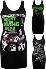 Night of the Living Dead Womens Dress Zombie George Romero Horror Halloween S-XL
