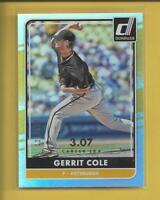 Gerrit Cole 2016 Donruss STAT LINE Career ERA Card ser #'d / 307 Astros Yankees