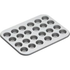 Kitchencraft Non-stick Twenty-four Hole Mini Bake Pan, 35x27cm, Card Insert -