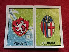 PERUGIA-BOLOGNA Calciatori Panini 1980/81 Figurina n°14 con velina LEGGI DESCR..