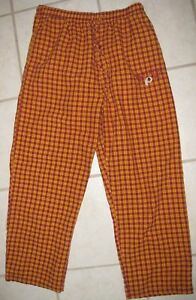 NFL Washington Redskins Pajama Lounge Pants PJ's Medium