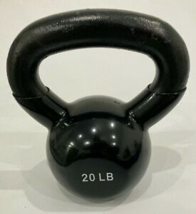 NEW 5-45LB VINYL DIPPED KETTLE BELL GYM WEIGHT 100% IRON! 5,10,15,20,25,30,35,40