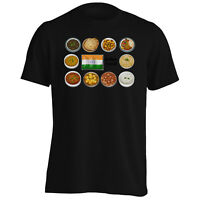 Indian Food India Chef Eat Curry Funny Men's T-Shirt/Tank Top c488m