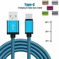 Huawei P30 P30 Pro Lite Type C USB-C Fast Charging Sync Charger USB Data Cable