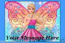 Barbie  Cake topper edible image icing REAL FONDANT