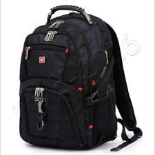 Men's Waterproof Backpacks Travel Bags Laptop Rucksack Swiss Gear School Satchel