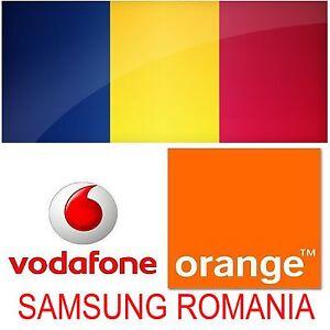 SAMSUNG GALAXY S10 S10+ S9 S9 PLUS NOTE 9/8 UNLOCK CODE ROMANIA VODAFONE ORANGE