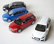 1 X Audi Q 7 Diecast Car model pull Red #12