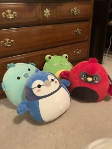 Squishmallows Babs Calzan Sheldon Wendy Kellytoy 12 Inch Bundle