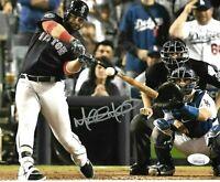 Mitch Moreland Wolrd Series Boston Red Sox Autographed 8x10 Photo coa JSA