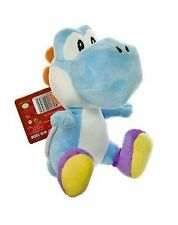 "Nintendo Super Mario Bros. Wii Plush Toy - 6"" Blue Yoshi"