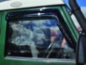 LAND ROVER DEFENDER - FRONT WINDOW WIND DEFLECTORS  PAIR - DA6078