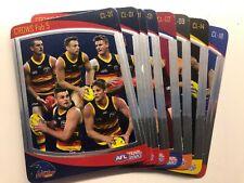 2020 AFL Teamcoach Fab 5 Checklist choose your card $1 each