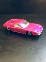MATCHBOX CARS LESNEY VINTAGE 1969 LOTUS EUROPA NO 5 GOOD USED CONDITION