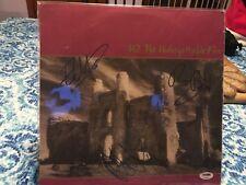 "U2 signed autographed ""THE UNFORGETTABLE FIRE"" ALBUM BONO EDGE ADAM PSA COA"
