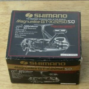 Shimano Speed Master Magnumlite GT-X 2250 SQ,6.2:1 Fast,3 Ball Bearing in box