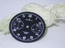 VINTAGE ORIGINALE ZENITH A. Cairelli Cronografo Quadrante Usato 146D CAL 32,10 mm